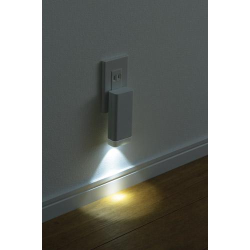停電センサーLEDサーチライト LS-8557W