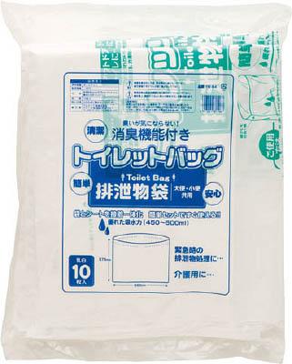 ワタナベ トイレットバック 排泄物処理袋 乳白