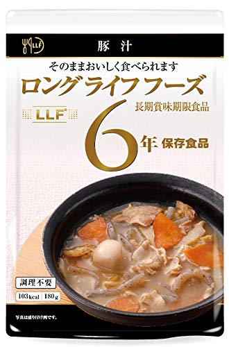 ロングライフフーズ 豚汁50袋入