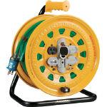TRUSCO プロソフトケーブルコードリール 30m 漏電防止付き