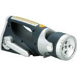 緑十字 UE-8000BL LEDライト(手巻き充電式) 225×90×92
