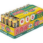 日立 アルカリ乾電池単3形(32本入