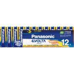 Panasonic エボルタ乾電池 お買得単3形12本パック