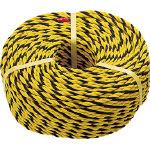 TRUSCO 標識ロープ 3つ打 線径7.5mmX長さ200m