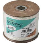TRUSCO ビニロンロープ 3つ打 線径3mmX長さ50m