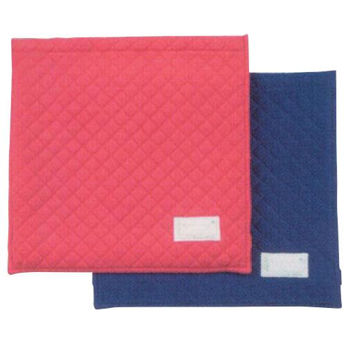 防災頭巾カバー 座布団 小 ブルー