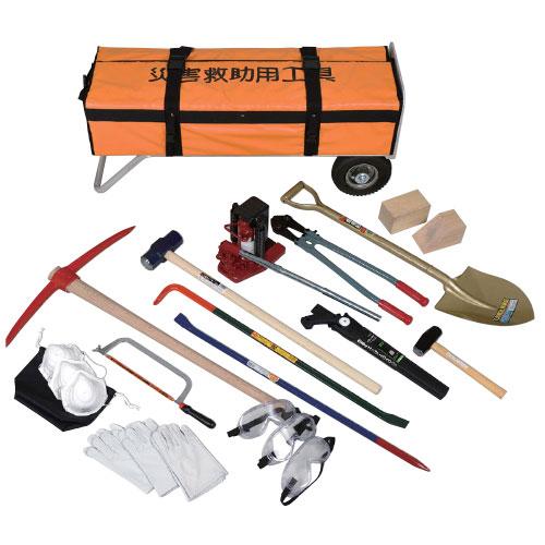 災害救助工具セットA カート式