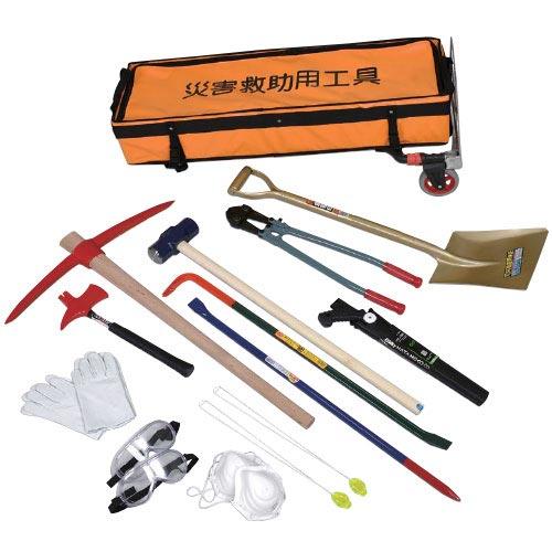災害救助工具セットC カート式
