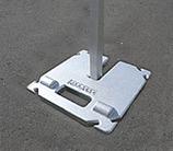 ワンタッチテント オプション 加重プレート(10kg)