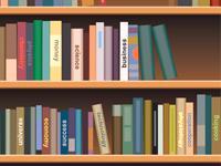 カスタネットの本棚